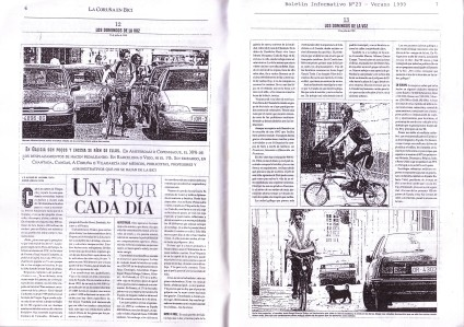 La Coruña en Bici