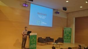 Presentación de Biciterapia en Girona el 30 de abril de 2015