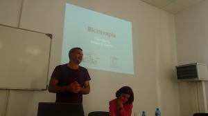 Presentación de Biciterapia en Málaga el 1 de mayo de 2015